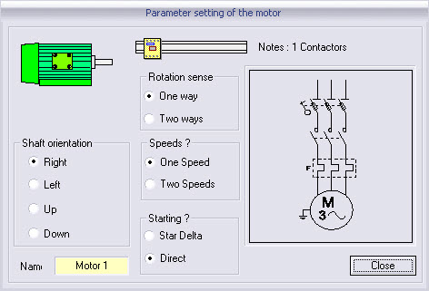 moteurs électriques the interactive behaviour of the motor and the thermal overload relay associated depends on the choice of the electric power wiring diagram
