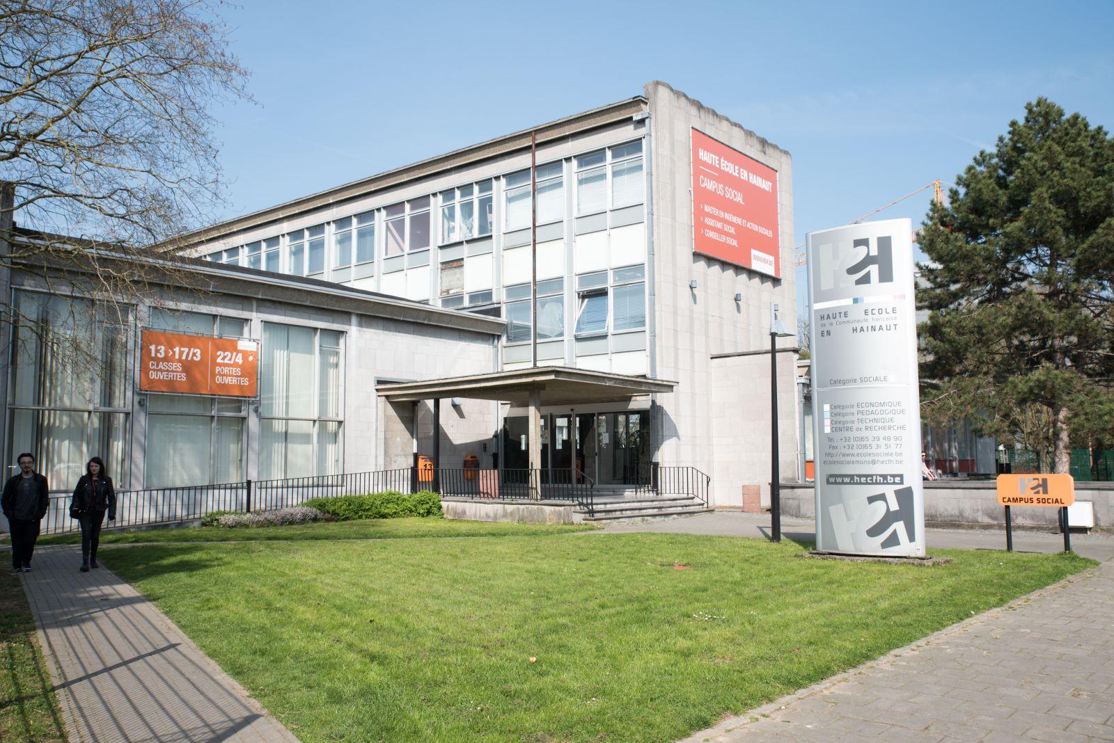 Campus Social de la Haute école en Hainaut - Bachelier assistant social - Bachelier conseiller social