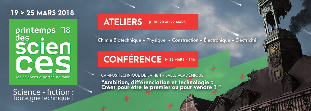 Printemps des Sciences 2016 au Campus technique
